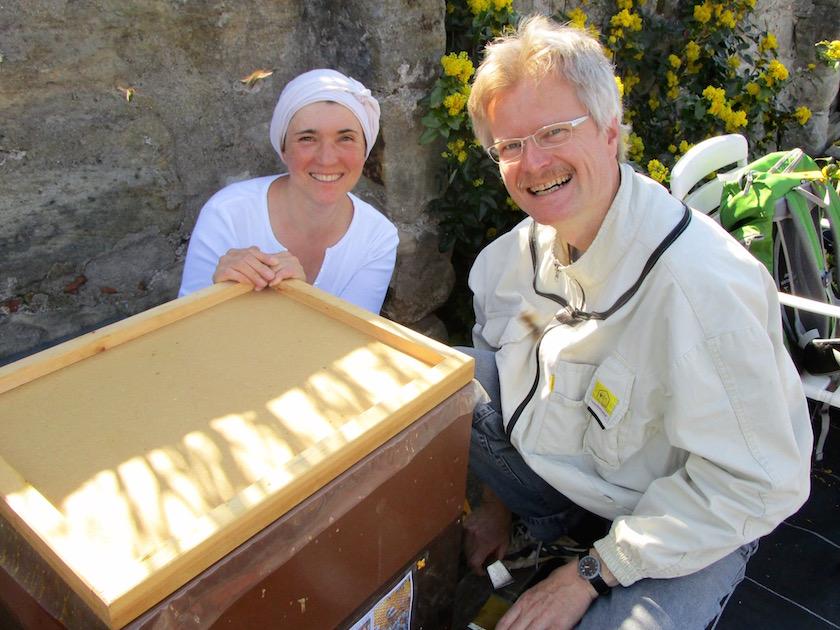 Ilona Munique und Reinhold Burger, Initiative Bienen-leben-in-Bamberg.de