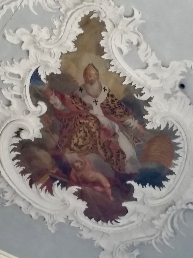 Heiliger Ambrosius aus der Michaelskirche in Zeil a. M.
