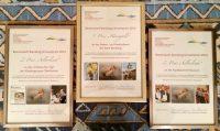 Urkunden zum Bienen-Stadt-Bamberg-Umweltpreis 2016 (BBU)