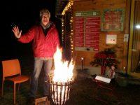 Funkensprüh'n am Feuerkorb