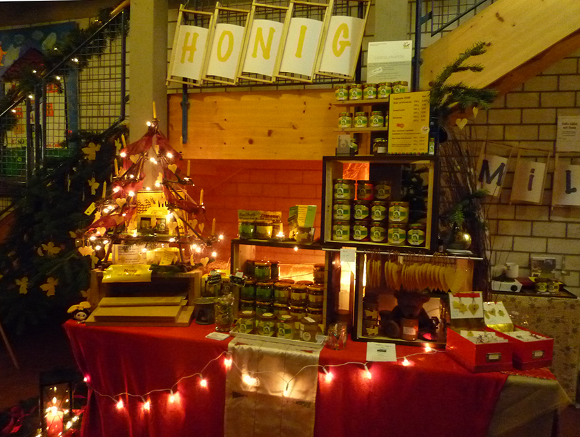 BLIB-Stand am Don-Bosco-Adventsmarkt