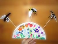 Bastelspaß Pappteller- Blumenwiese