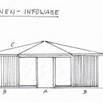 Entwurf Bienen-InfoWabe