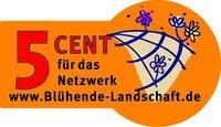 5-Cent-Aufkleber Netzwerk Blühende Landschaften, Fotonachweis: http://www.bluehende-landschaft.de/