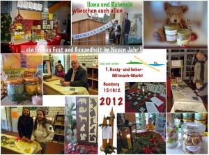 1. Honig- und Imker-Mitmach-Markt 2012