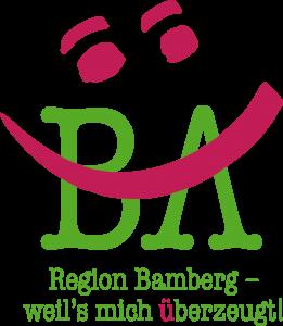 """Logo """"Region Bamberg – weil's ich überzeugt!"""""""