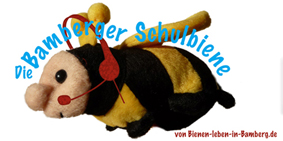 Logo der Bamberger Schulbiene