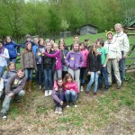Hirschaider Schulkasse und die Bamberger Schulbiene