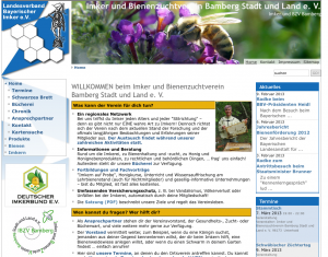 Homepage des IBZV