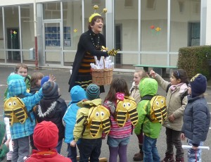 Bamberger Schulbiene in der Hainschule