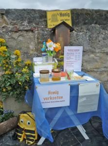 Honigverkosten bei Bienen-leben-in-Bamberg.de