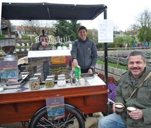 Mokka Makan und der erste Espressowagen Bambergs