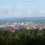 Aussicht auf Bamberg von Wildensorg aus