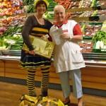 REWE-Rudel-Spende 2013 für die Bamberger Schulbiene