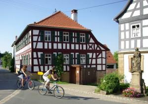 """Gasthof """"Goldener Adler"""" (ehem. Feiler) in Mürsbach"""