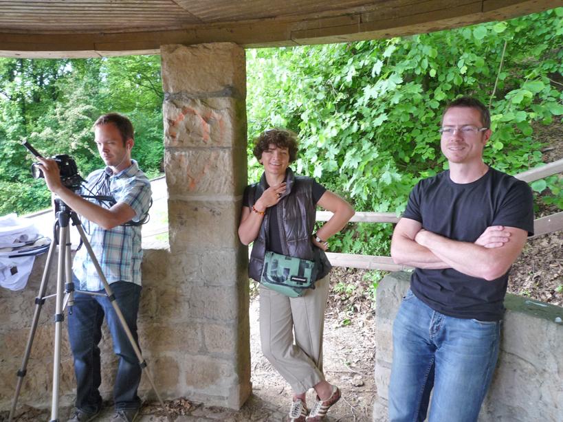 (von links) Arno Schimmelpfennig, Christiane Hartleitner, Dr. Johannes Bail