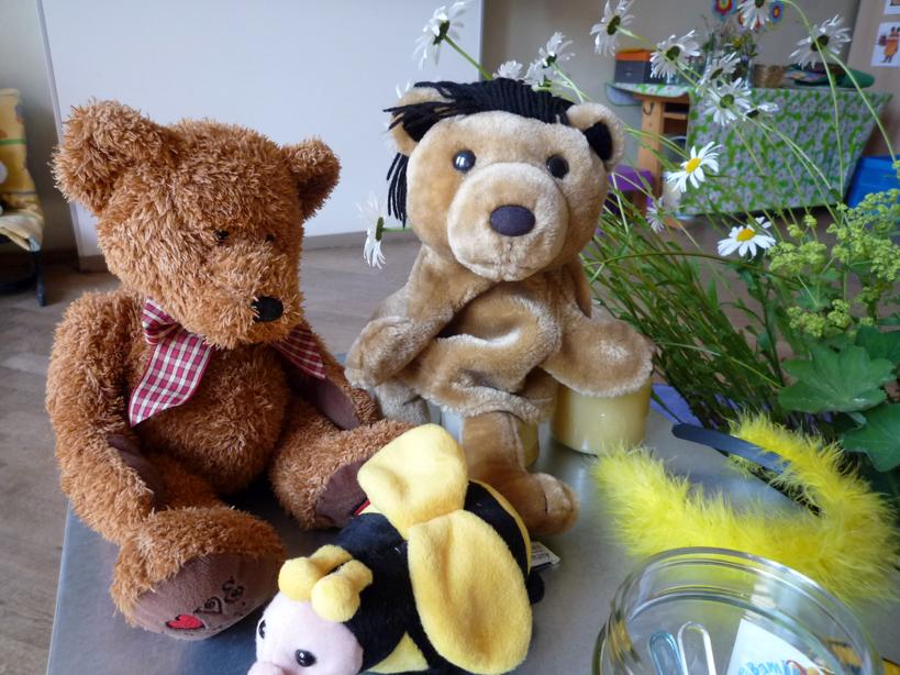 Bären in der 1b Gangolfgrundschule