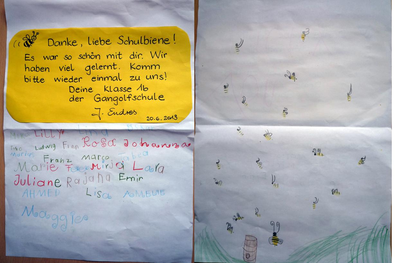 Dankesbrief 1b Gangolfgrundschule Bamberg