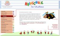 Screenshot der Hainschule zur Bamberger Schulbiene