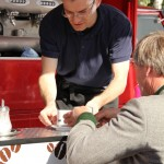 Renè Jahn und seine Rollende Kaffeebohne