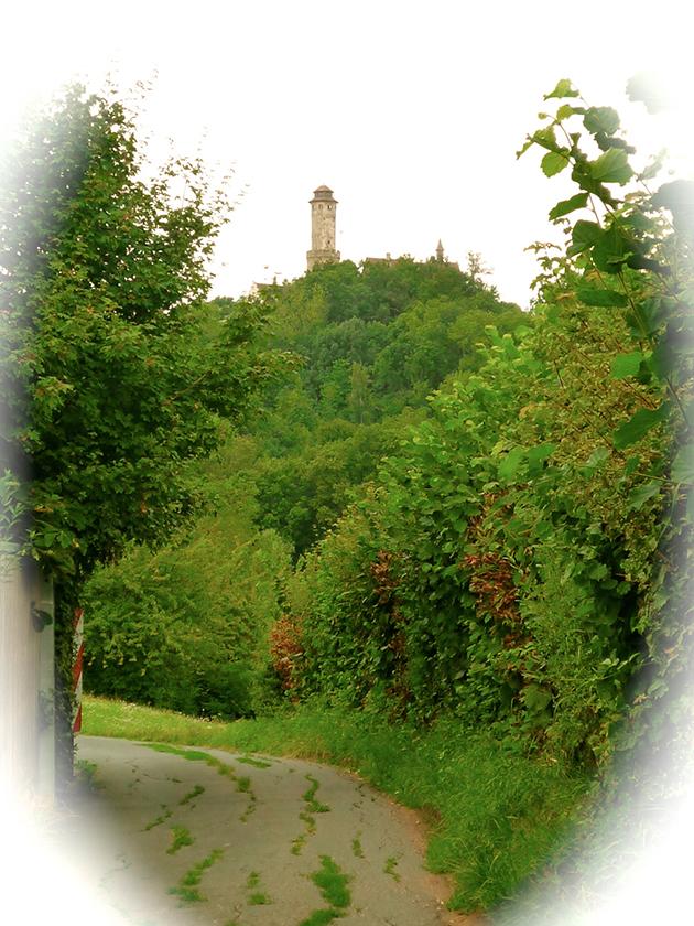 Am Rößleinsweg Richtung Altenburg, Bamberg