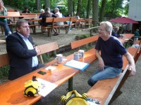 Andreas Schwarz und Reinhold Burger