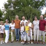 Gruppenfoto der Gäste am 28.07.2013
