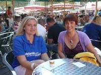 Melanie Huml und Ilona Munique