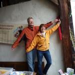 Reinhold Burger und Ilona Munique von Bienen-leben-in-Bamberg.de