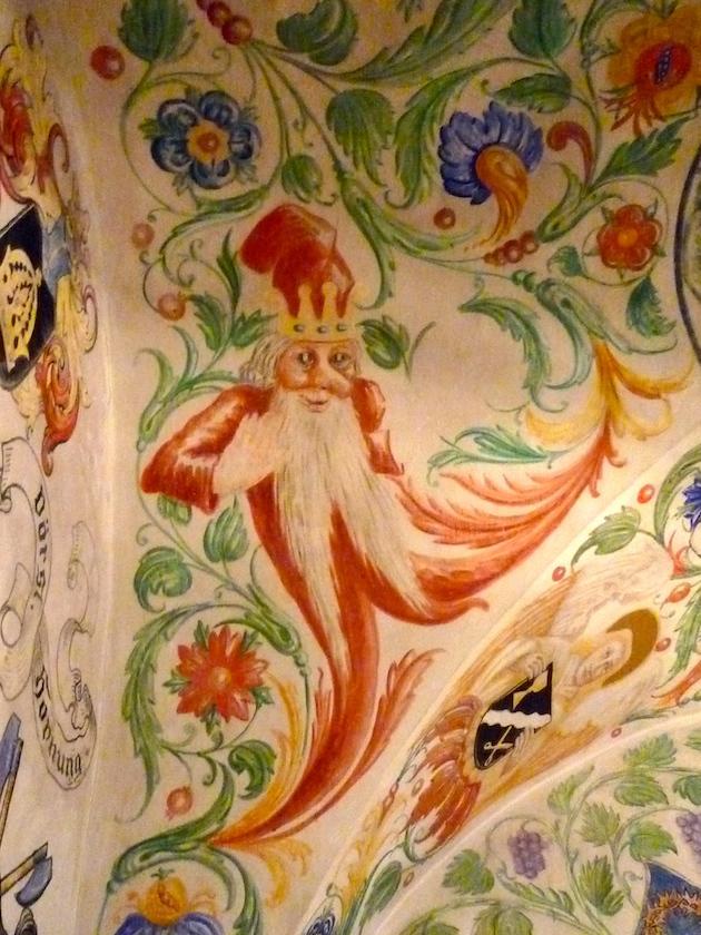 Fresko im Historischen Museum Bamberg