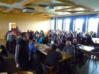 Voller Saal zum Kreisimkertag Bamberg 2014