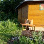 Bamberger Bienen-InfoWabe mit Bienengarten und Sitzbank