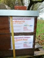 Bienenpatenbeute von Michael Alt und Elisabeth Burger