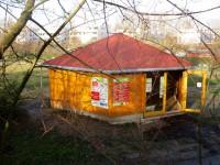 Bienen-InfoWabe, Osteingang