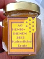 """Honigglas """"Eine kaiserliche Ernte"""" 2013"""