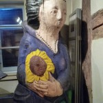 Figurenbeute im Zeidelmuseum Feucht