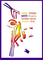 Postkarte Felszeichnung Imkerei (Cueva Arana)