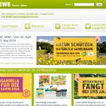 REWE-Nachhaltigkeitswochen 2013 - Webseiten-Screenshot