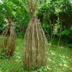 Weidenskulpturen iim KHG-Garten