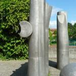 Stelen am Kaiser-Heinrich-Gymnasium Bamberg