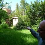 historische Teleskop Remise an der Sternwarte