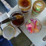 verschiedene Honige zum Probieren