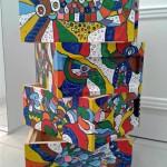 Künstlerisch gestaltete Beute von Conny Kopp