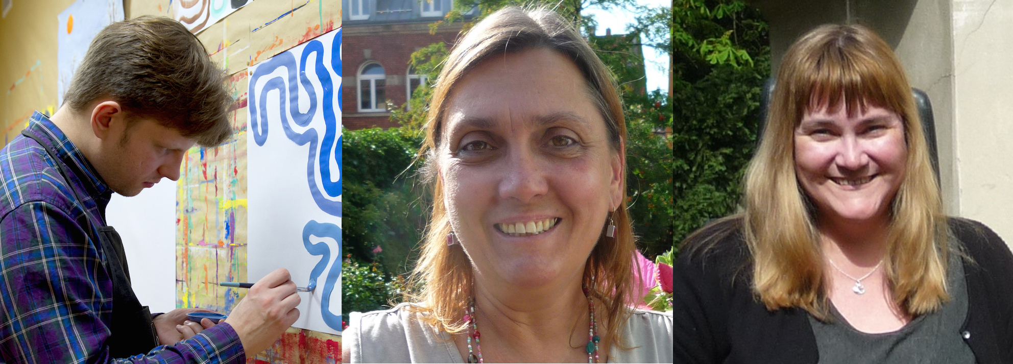 Gewinner/innen des Preisausschreibens: Florian Snow, Jeannette Munique und Sabine Saam