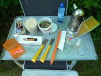Imkerwerkzeug fürs Ernen