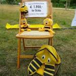 Symbolische Stuhlspende des Lions Club Bamberg Residenz