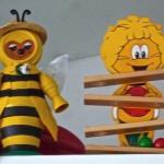 Bienenfiguren im Fachzentrum Bienen, FWG Veitshöchheim