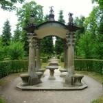 Romantische Sitzgruppe im Hofgarten Veitshöchheim