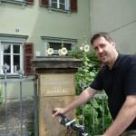 """Ingo Schmitt, 2. Vorsitzender der """"Schutzgemeinschaft Alt-Bamberg e. V."""""""