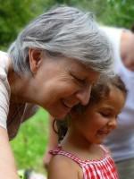 Gabriele Loskarn mit Enkelin Lola